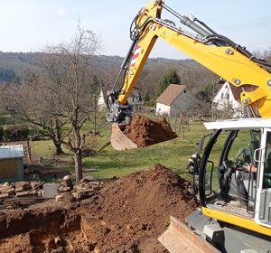 Baustart Lichtenwald